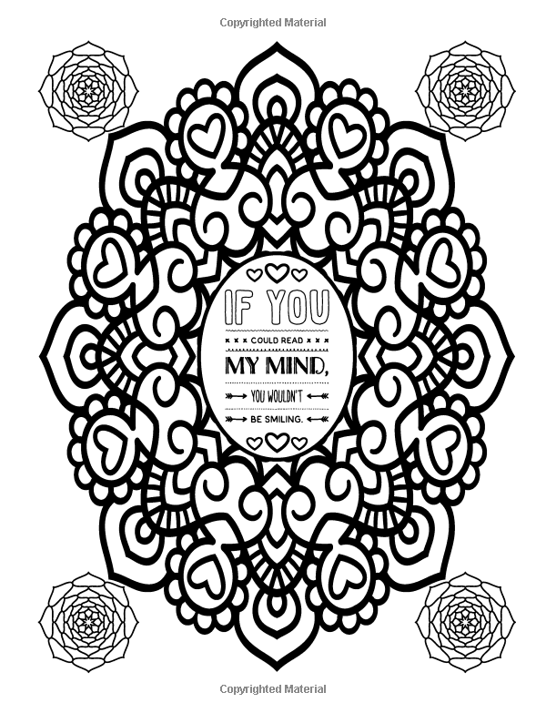 Amazon A Snarky Mandala Coloring Book Mandalas Meh Humorous