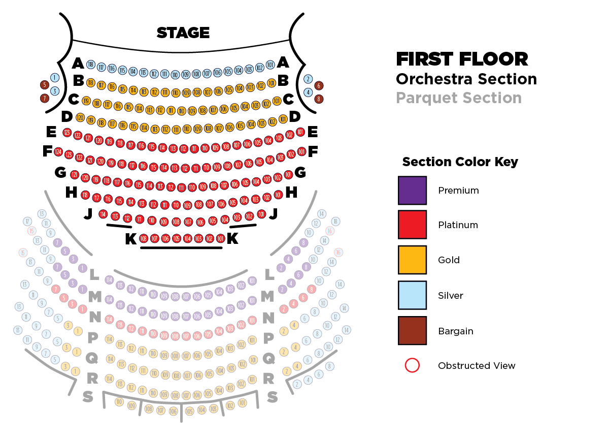 Tower Theater Seating Chart Orchestra Awesome Home