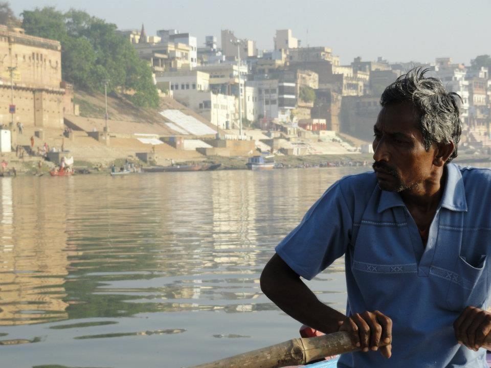 Rio Ganges - Índia.