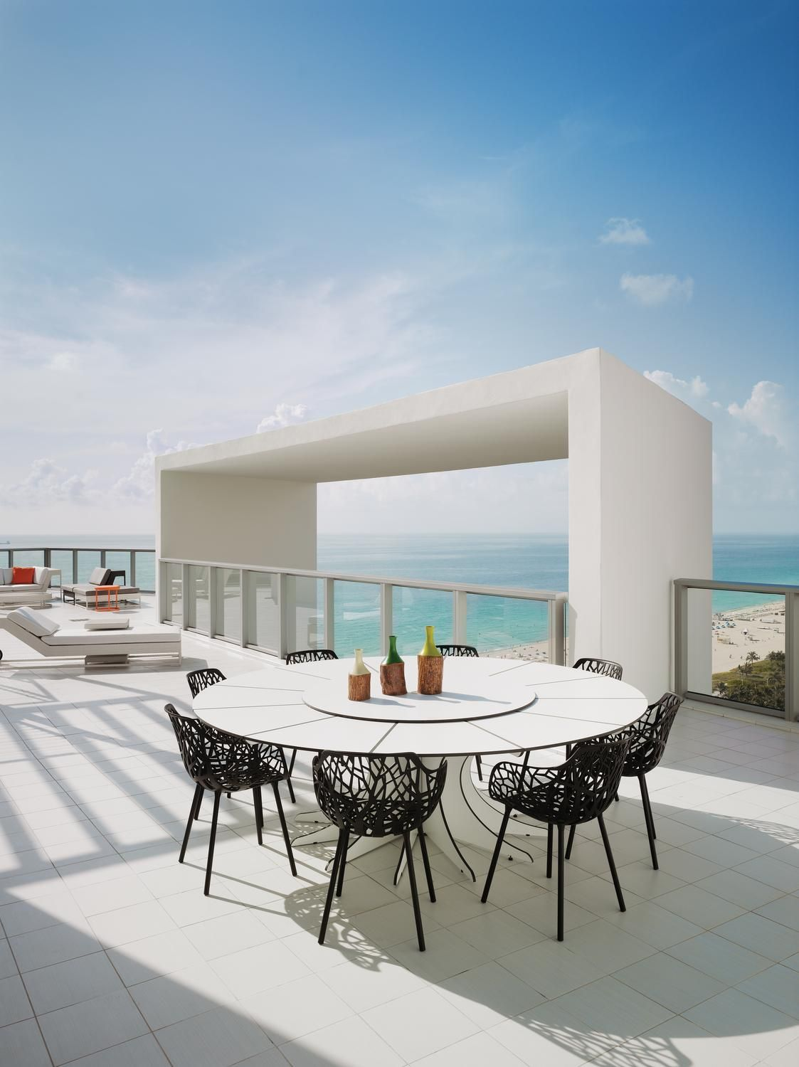 Roof Top Terrace Of The Extreme Wow Suite Part Vip Suites At W South Beach