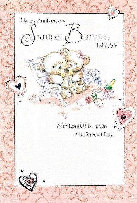 Sister And Brother In Law Happy Anniversary Sister Happy Anniversary Quotes Happy Marriage Anniversary