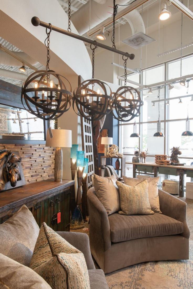 Western Style Interior Design Classic Furniture Living Room