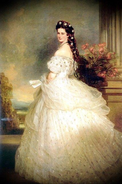 Empress Elisabeth Sissi Of Austria Inspiration Jessica Simpson S Wedding Dress For Her To Eric Johnson