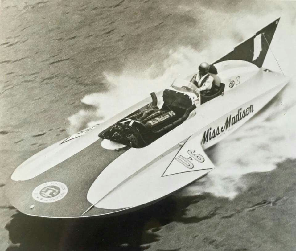 "MISS MADISON"" (U-6) 1971 APBA Gold Cup (28') Unlimited Class"