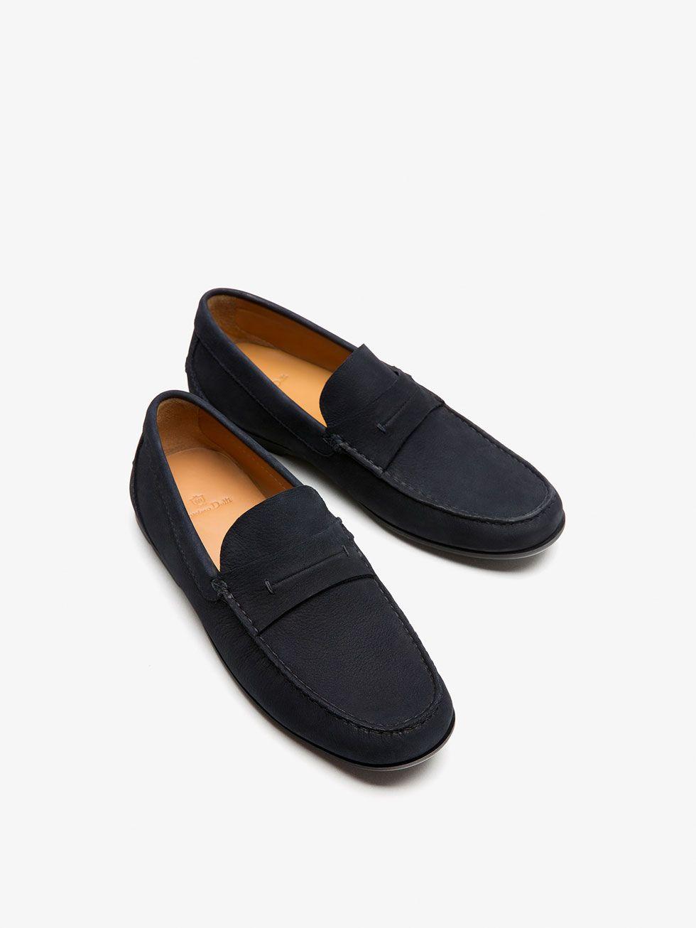 45ffdfa323c MOCASIN PIEL AZUL de HOMBRE - Zapatos - Ver todo de Massimo Dutti de  Primavera Verano 2017 por 69.95. ¡Elegancia natural!