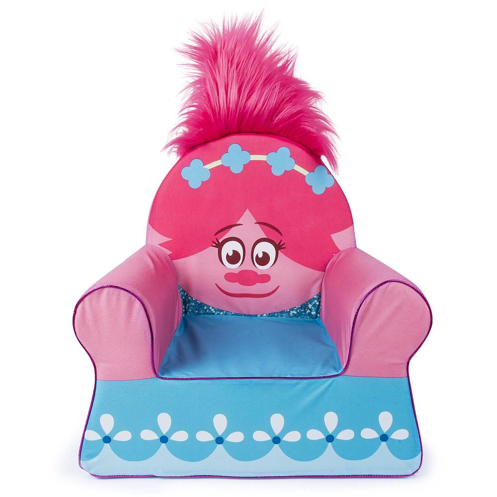 Now You Can Snuggle Up With The Trolls Character Poppy Themed Comfy Chair  For Toddlers From