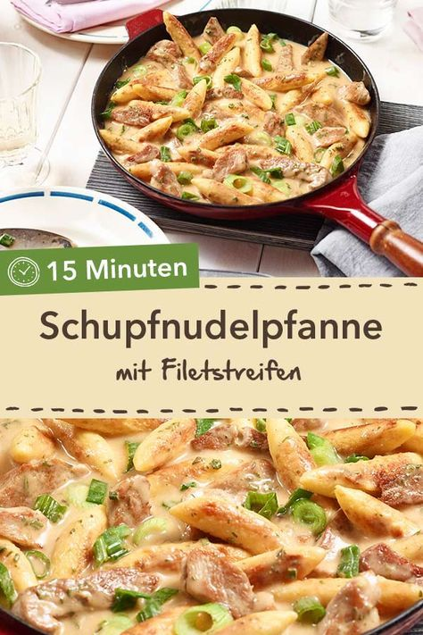 Schupfnudel-Filet-Pfanne Rezept – essensideen