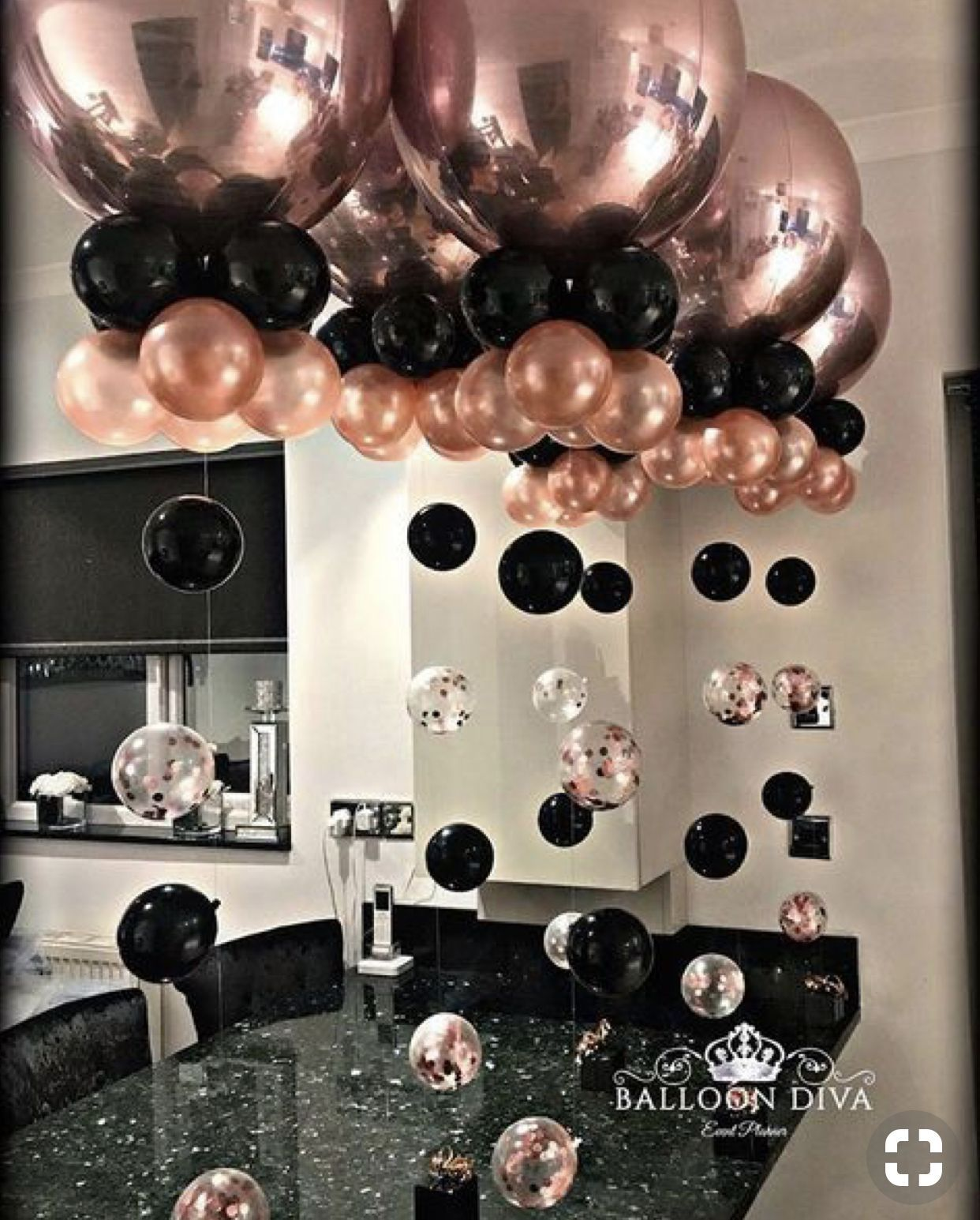 Party Party In 2020 Rose Gold Party 16th Birthday Party Sweet 16 Birthday Party