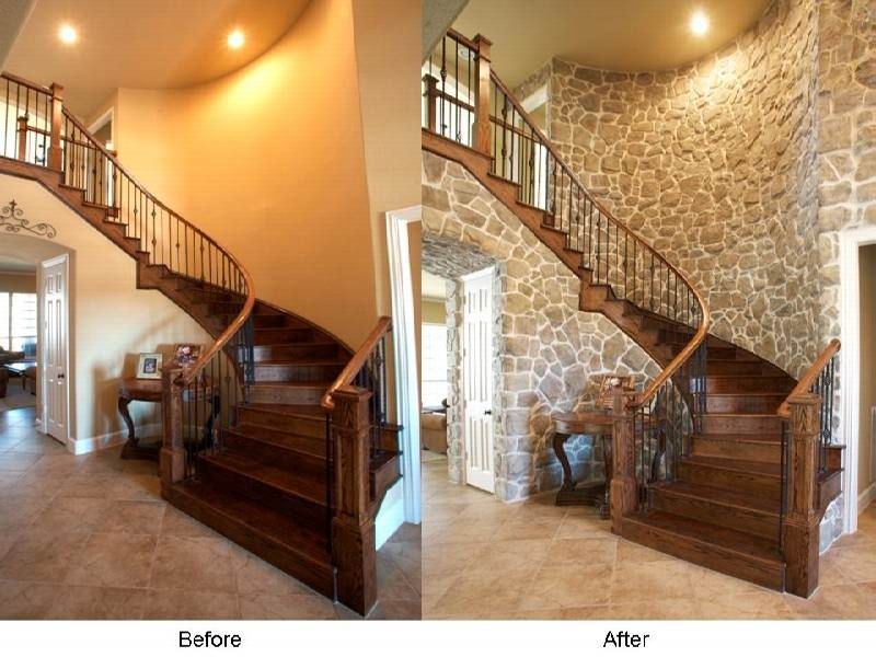 House Renovation Before And After Interior Pinterest