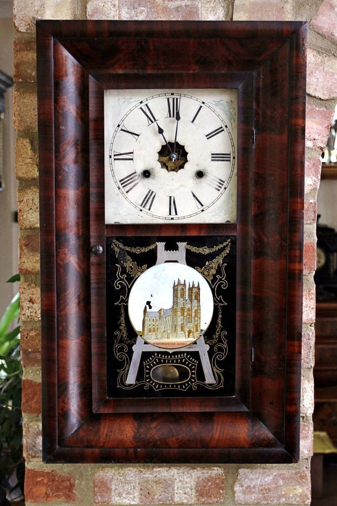 Jerome Co New Haven Wall Clock