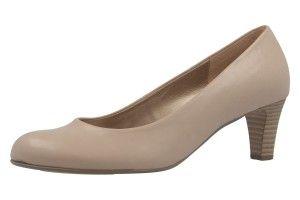 GABOR Damen Pumps Beige Schuhe in Übergrößen | FS17
