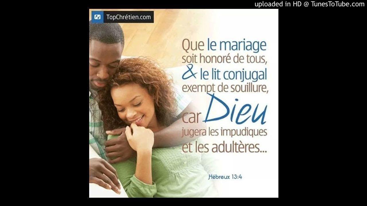 Que Le Mariage Soit Honoré De Tous