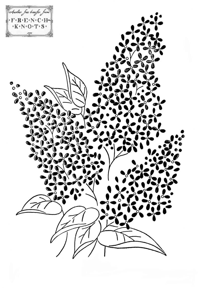 Flowers u Nature Embroidery Patterns in Embroidery
