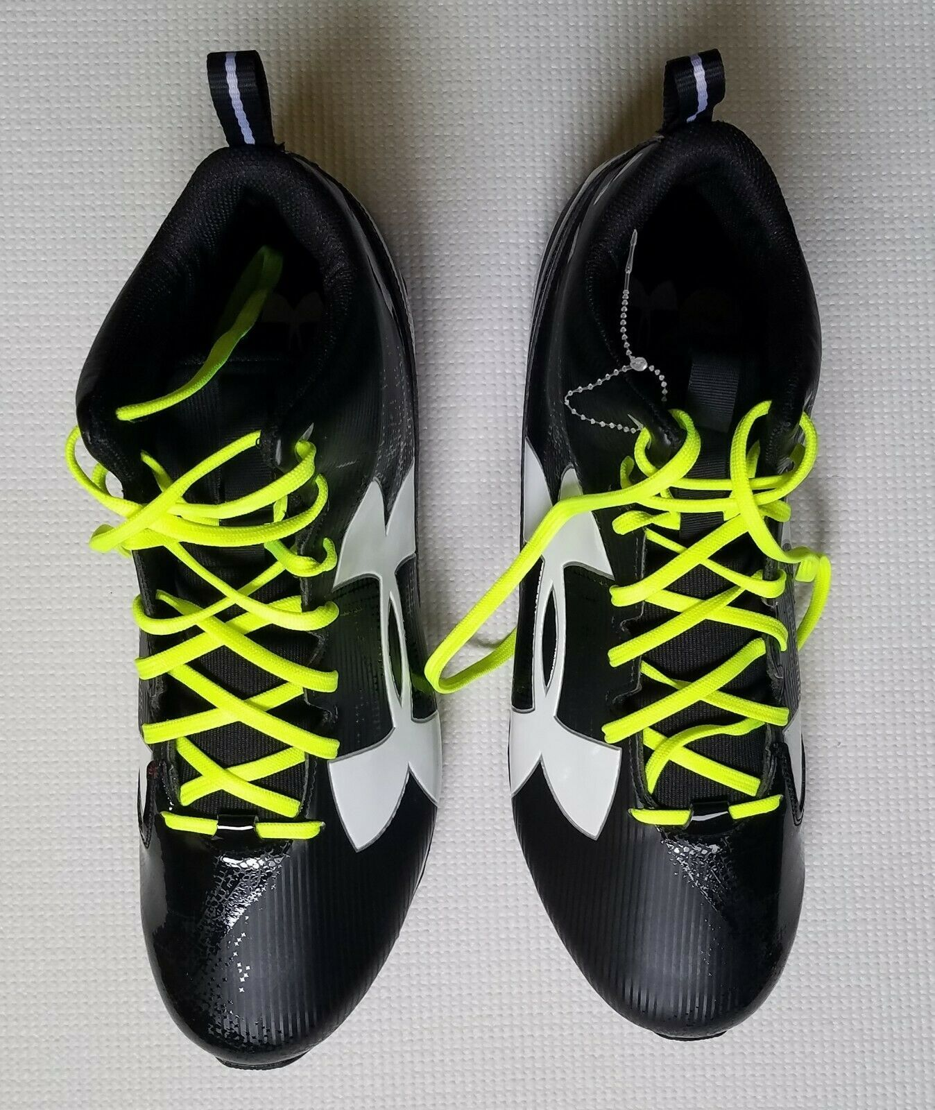 Under armour football cleats armour bound men s black