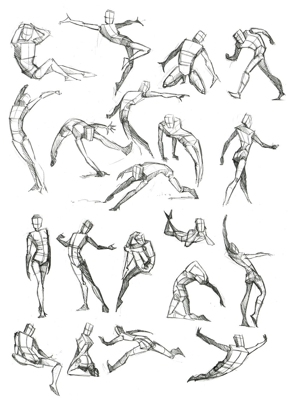 Body Frame Doodles by Canadian-Rainwater.deviantart.com on ...