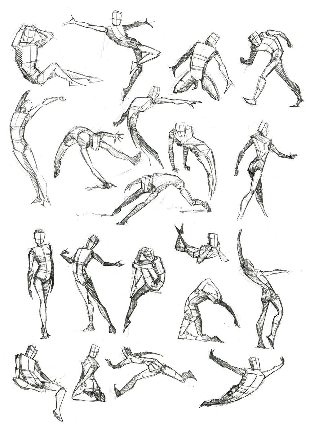 Body Frame Doodles by Canadian-Rainwater.deviantart.com on ...