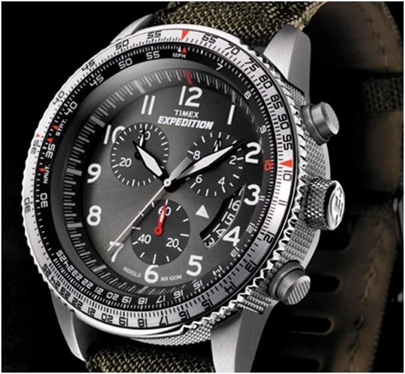 Timex Expedition Military Chronograph #Expedition