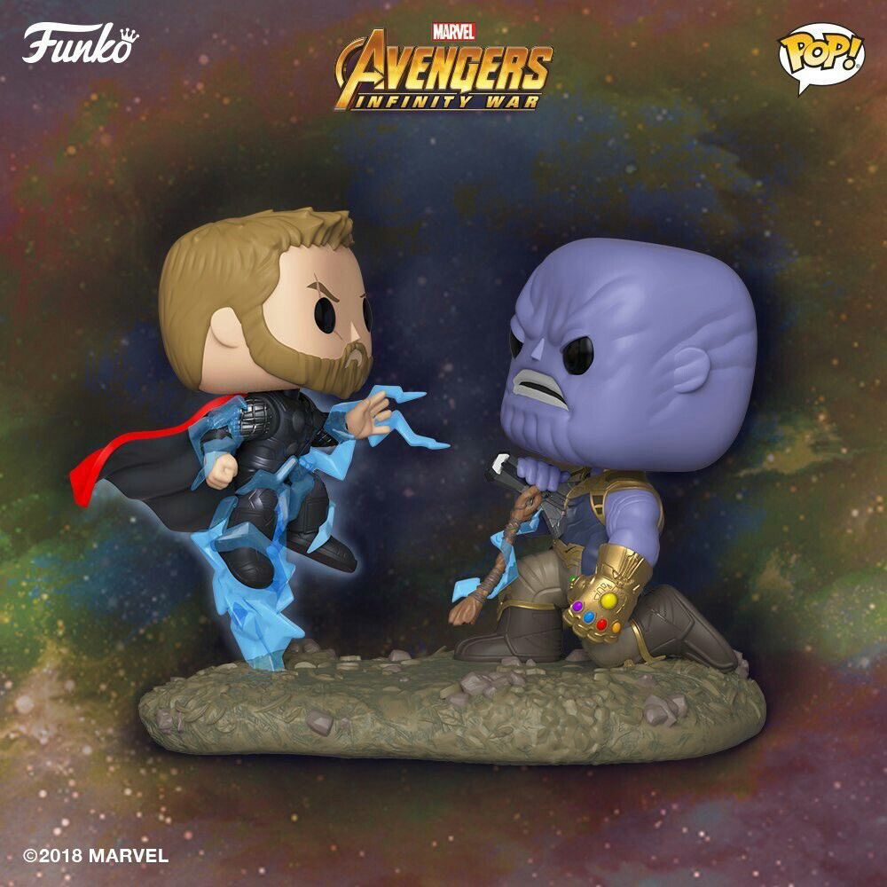 Movie Moment Thor Vs Thanos Avengers Infinity War Funko Pop Instagram