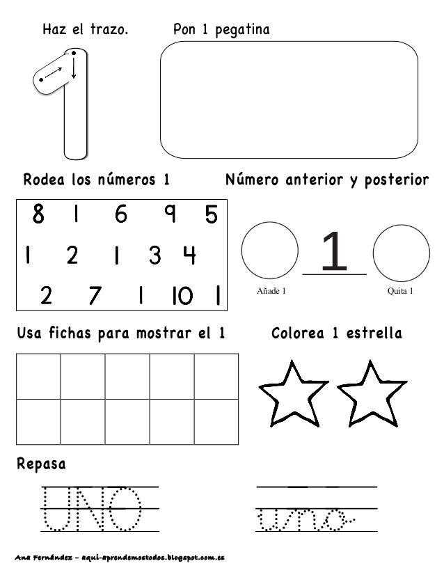 Ana Fernández – aqui-aprendemostodos.blogspot.com.es UNO uno Añade 1 ...
