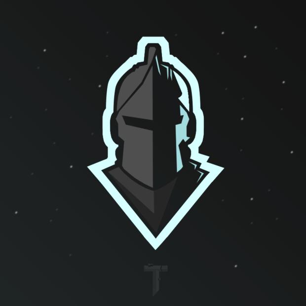 Black Knight Mascot Logo Black Knight Mascot Skin Logo Photo Logo Design Game Logo
