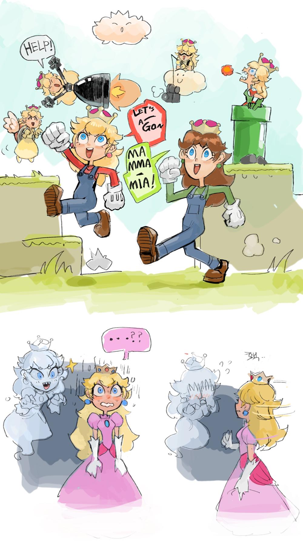 Y El Meme De La Semana Tiene Nombre Propio Bowsette Super Mario Art Mario Funny Super Mario Brothers