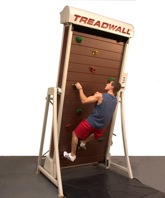 Treadwall Rock climbing, Treadmill