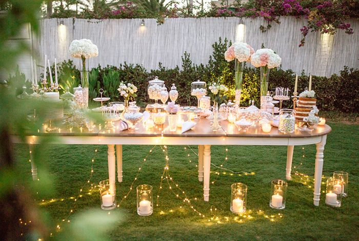 Etherial Blush Seaside Wedding - I Wish Chic Events  Zazoo Event Rentals Wedding