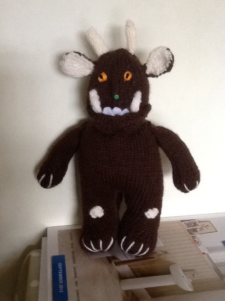 Very cute Gruffalo nice easy pattern | Julia Donaldson\'s books ...