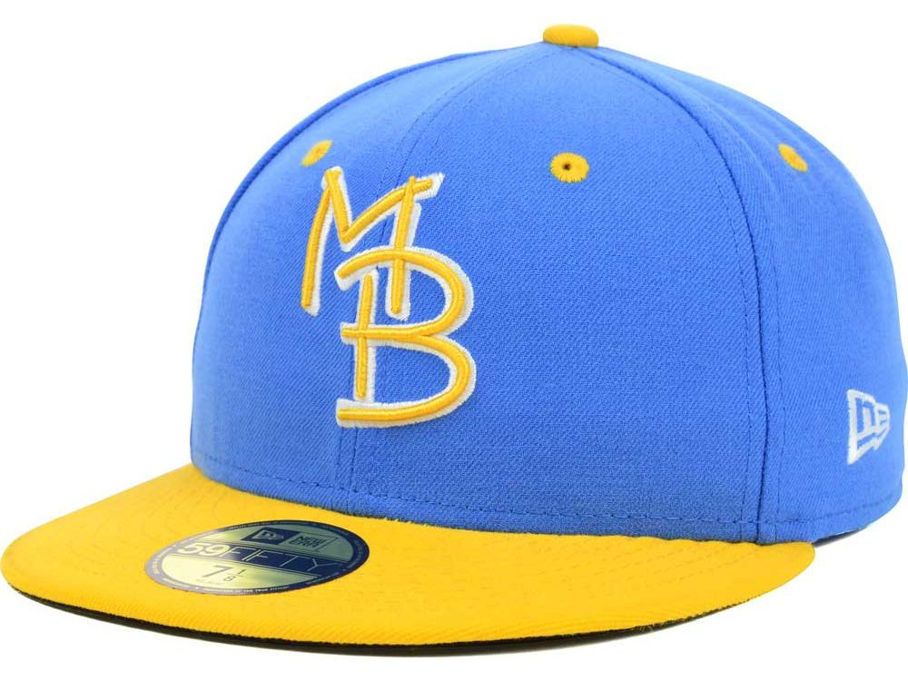 45d38b02576 Myrtle Beach Pelicans New Era MiLB AC 59FIFTY Cap ( 35)