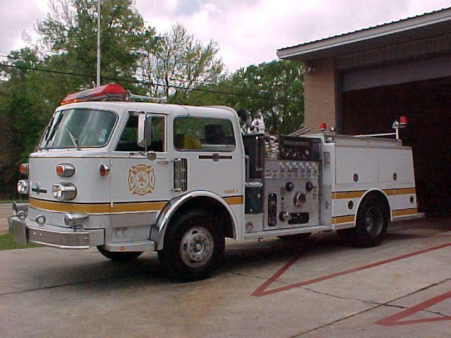 Engine 4 1978 American LaFrance Pumper 1500 GPM Pump