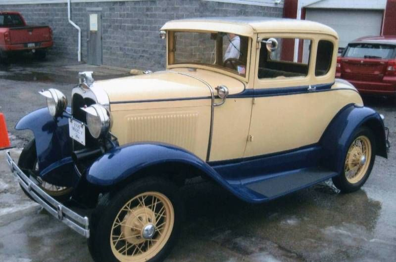 1930 ford model a coupe restored to original 1930 ford & 1930 ford model a original colors - Google Search | living spaces ... markmcfarlin.com