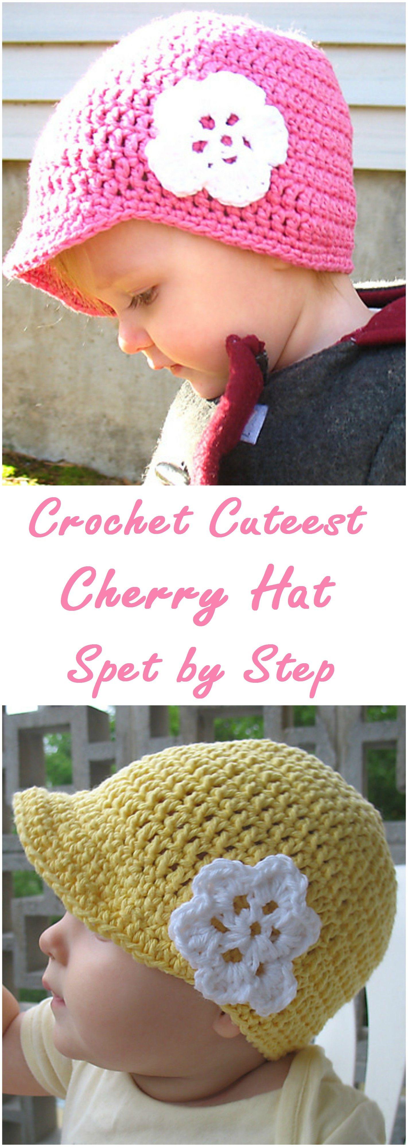 Crochet Cherry Hat | Crochet projects | Pinterest