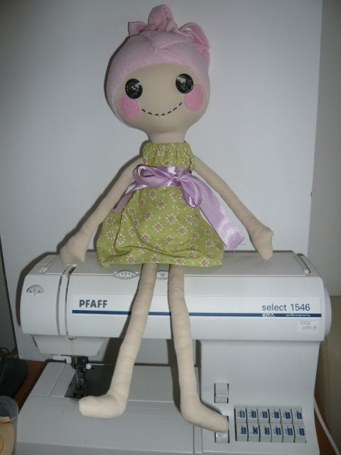 stitches for joy: Lalaloopsy - inspired by pinterest
