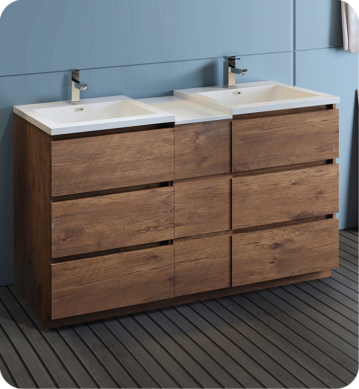 20+ Free standing bathroom cabinets brown model