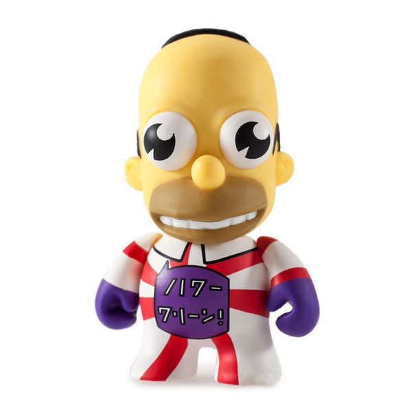 Mr Sparkle Red//White 1//60 Kidrobot The Simpsons 25th Anniversary 3/""