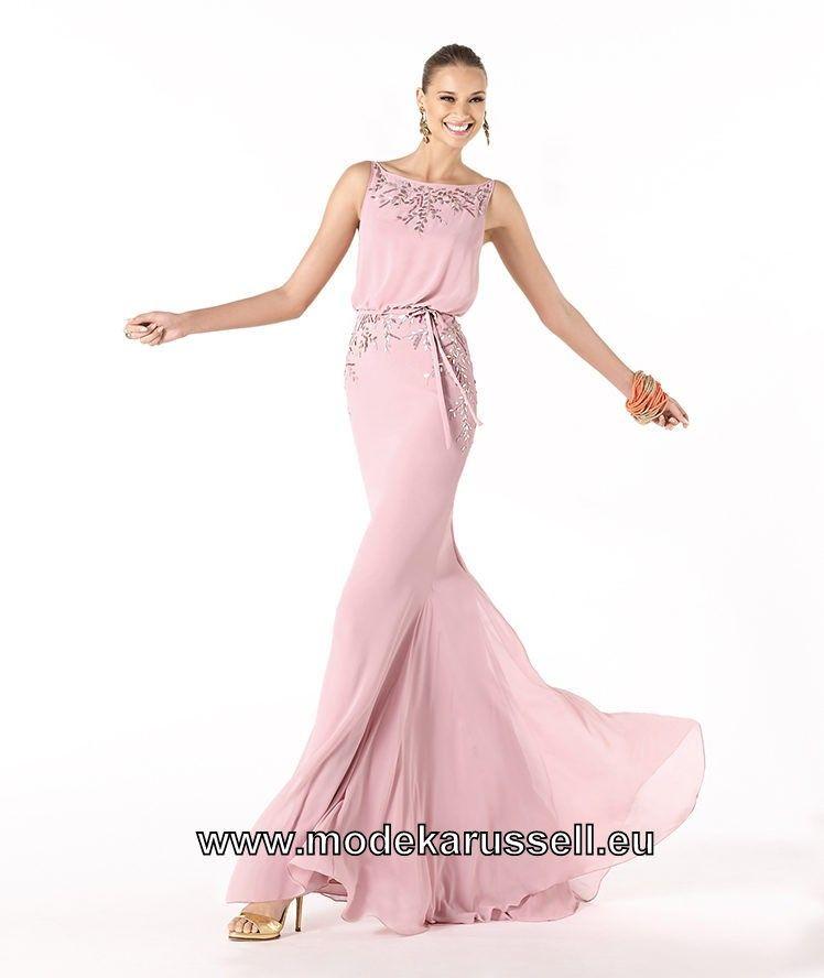 Leichtes Sommer Abendkleid in Rosa   Mode   Pinterest   Abendkleid ...
