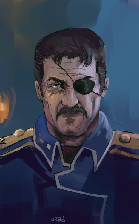 Fuhrer King Bradley by jeadsan