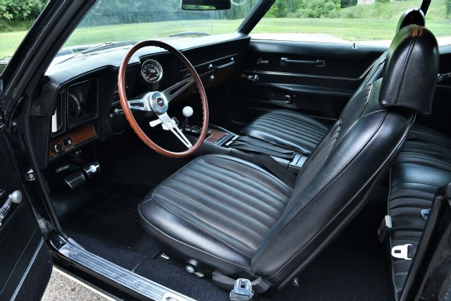 1969 Chevrolet Camaro Interior Overall Vehicle