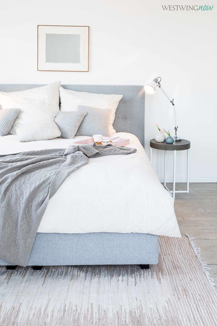 Strick macht Betten heimelig! Der Clou an den Kissen: Sie sind so ...