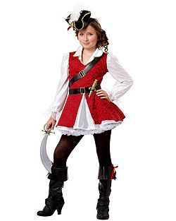 Child Captain Cuteness Pirate Costume | Cheap Classic Halloween Costume for Girls Costumes.  sc 1 st  Pinterest & Child Captain Cuteness Pirate Costume | Cheap Classic Halloween ...