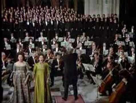 Leonard Bernstein conducts the ending of Mahler's Resurrection Symphony.