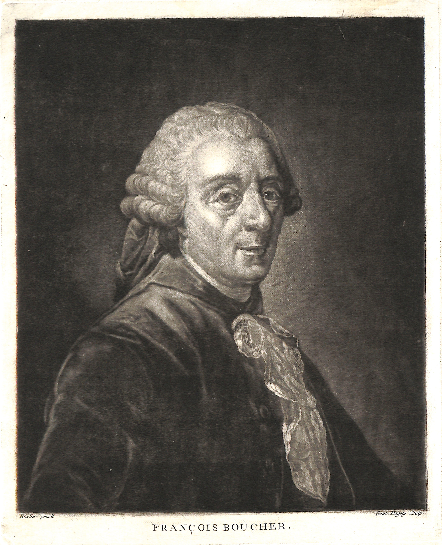 Fran ois boucher 1703 1770 peintre portrait d 39 apr s for Boucher peintre