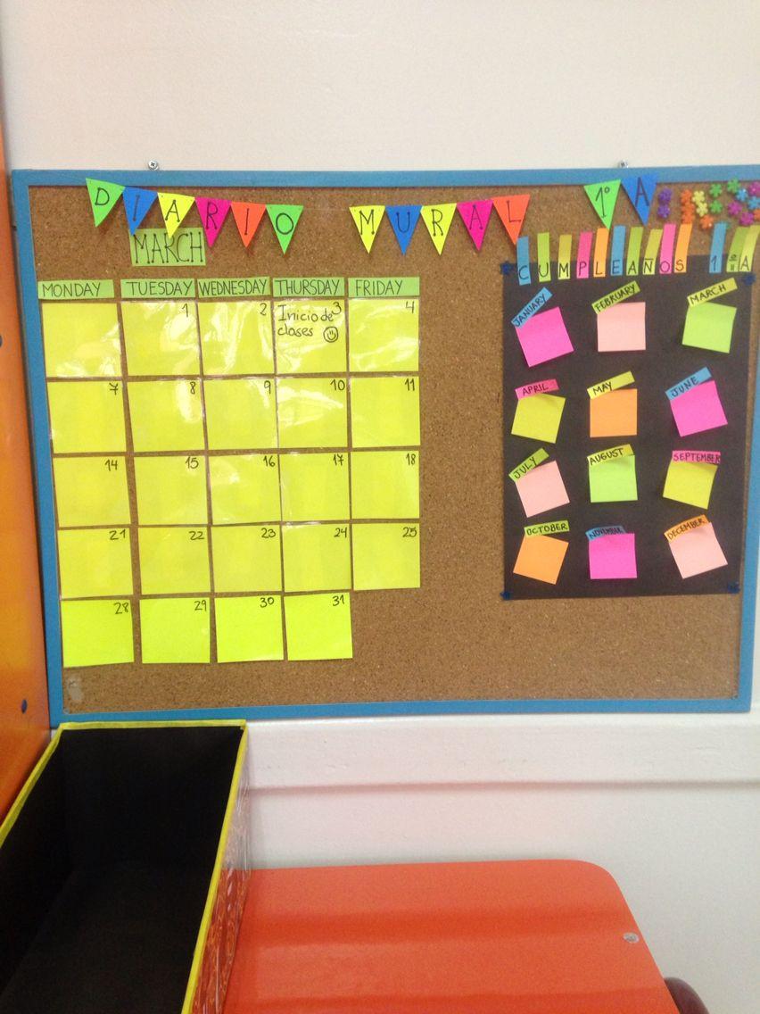 Diario mural! | aula innova | Pinterest | Ideas para and School