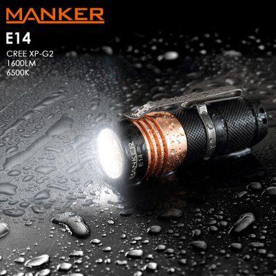 Hoy con el 50% de descuento. Llévalo por solo $164,900.Manker E14 1600Lm del CREE XP - G2 BLF A6 mini linterna LED.