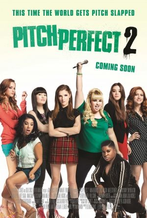 Pitch Perfect 2 Poster Were Back Pitches Pitch Perfect Voce