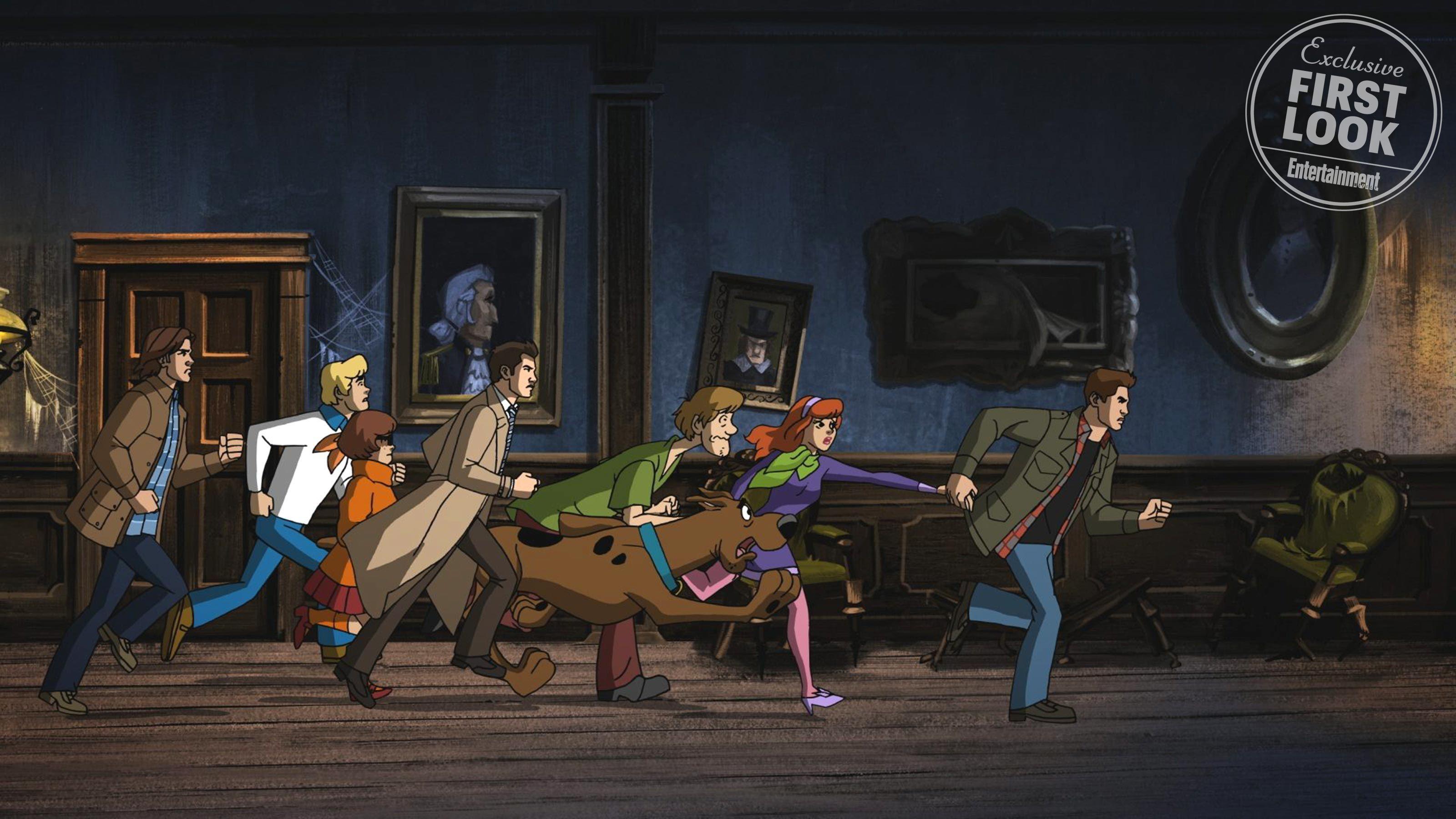 <em>Supernatural:</em> Sam, Dean, and Castiel meet the Mystery Gang in <em>Scooby-Doo</em> crossover
