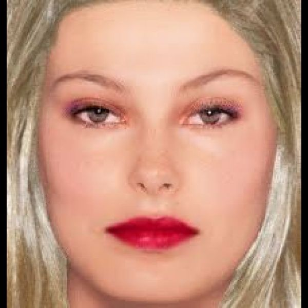 "Try On Hairstyles Fair Make Up "" Created Using Taaz Virtual Makeovertry On Hairstyles"