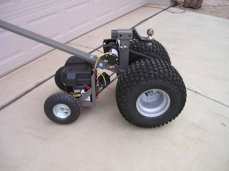 Electric Trailer Dolly >> Details About Trailer Mover Plans 12v Heavy Duty Version Dolly