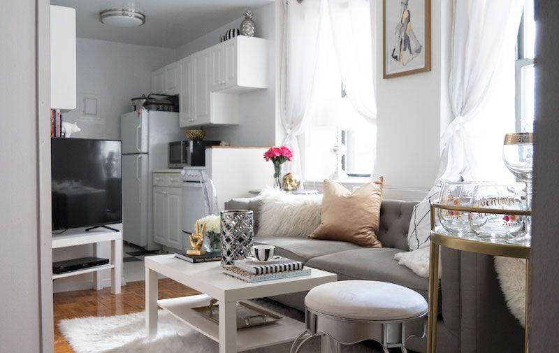 20 Something Manhattan Apartment: Inside The Converted One-Bedroom Of Two Manhattan Twenty
