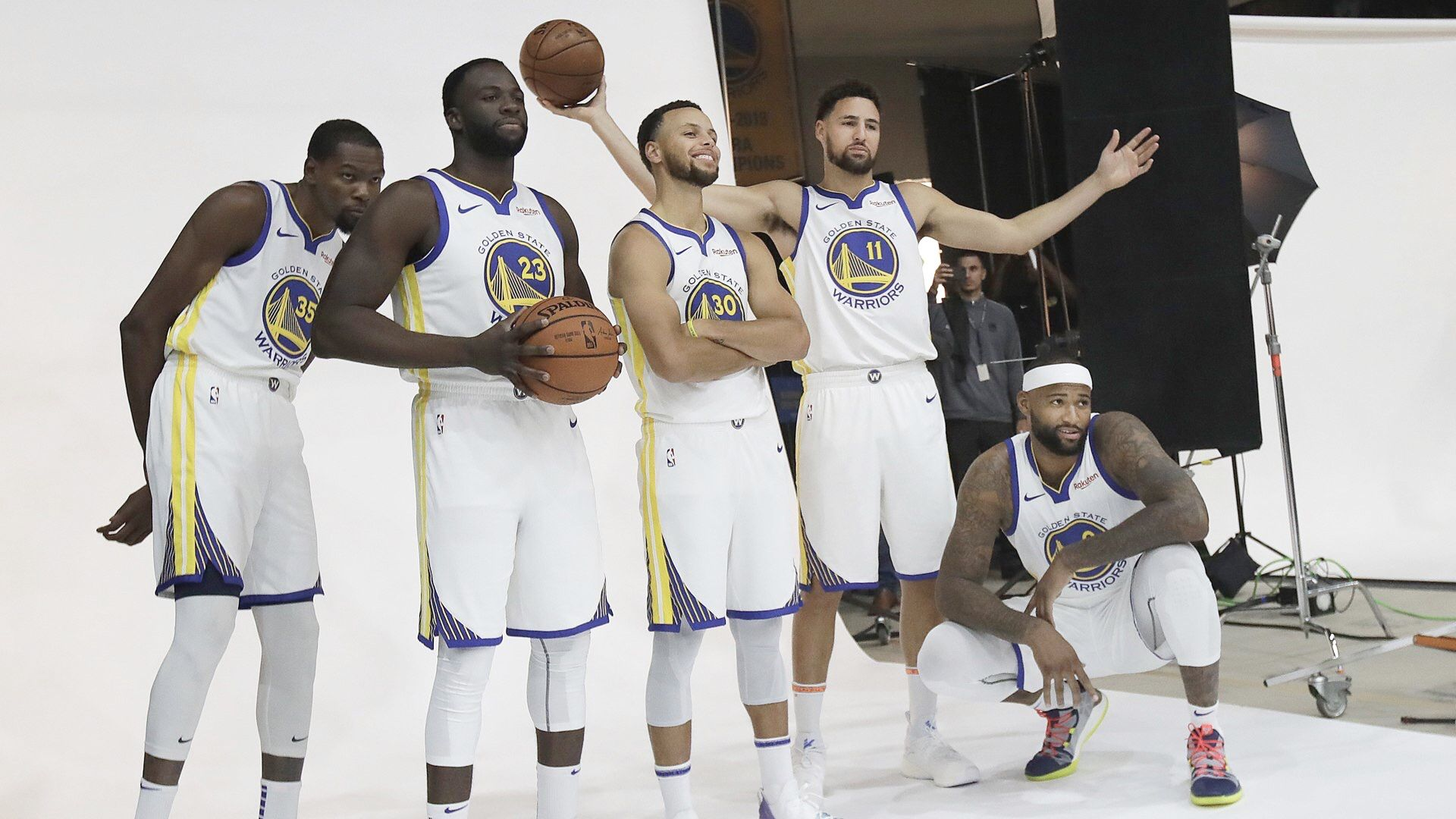 Kevindurant Stephencurry Klaythompson Draymondgreen And Demarcuscousins Of The Golden State Warriors Stephen Curry Yoga For Kids Warrior